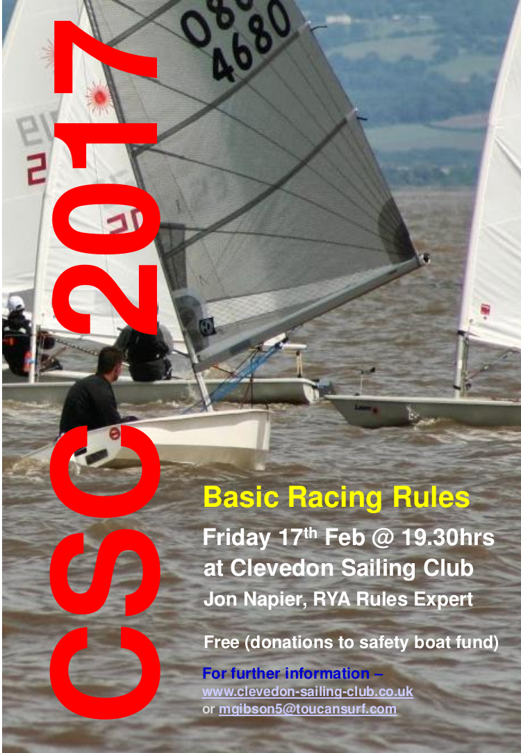 CSC Basic Racing Rules Poster